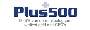 Plus500 logo koers-ripple
